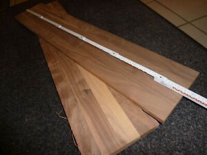 3x Nussbaumholz Bretter rustikales Nussholz 79x25//29cm 23mm