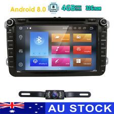 Android 8.0 GPS Navigation Stereo VW Sharan Jetta Passat Golf Polo Seat Tiguan