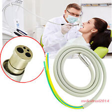 2pcs Silicone Tube cable for Dental Handpiece 4 Hole Hose Connection Air Motor