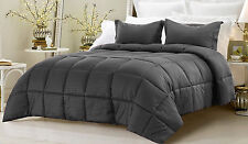 Scala bedding Down Alternative Comforter 3-Piece Set, Twin/Queen/King Stripe