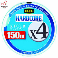 NEW Duel Hardcore X4 150m 25lb/10kg #1.5 Milky Green 4 Braid PE Line H3277-M JPN