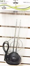 1X-Universal-Antenna-Indoor-Rabbit-Ear-for-Color-TV-UHF-VHF-HDTV-with Cable  1X-