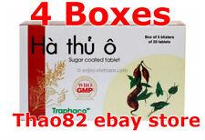 400 tablets Fo Ti - HA THU O Herbal Hair Loss Health Anti-Aging Immune booster