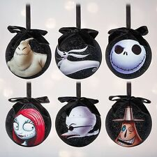 Tim Burton's The Nightmare Before Christmas Jack Skellintong Ornament Set