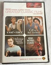 TCM DVD Turner Classic Movies Romantic Dramas Rebel Hot Tin Roof More New