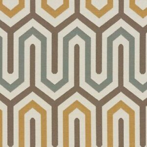 Arccom Bali Mineral Large maze Geometric Indoor Outdoor Upholstery Fabric