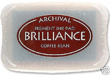 BRILLIANCE Archival Pigment Ink Pad - COFFEE BEAN