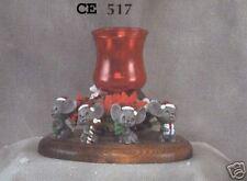 "New #517 Ceramic  Emporium Mold ""4 Xmas Mice"" Only"