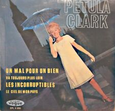 PETULA CLARK un mal pour un bien/les incorruptibles/ciel de mon pays EP 1965 VG+