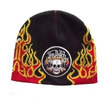 Authentic Brand New Von Dutch Skull Beanie Hat Cap Knit