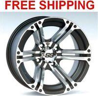 "ITP SS212 Wheels Rims 14"" 4 Wheel  Kit Yamaha Grizzly 350 IRS 2007-2012"