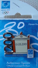 1200 DAYS TO GO - ATHENS 2004 OLYMPIC COUNTDOWN PIN made by Trofe VERY RARE