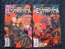 EX MACHINA : SPECIAL -COMPLETE SET OF 2 ISSUES by VAUGHAN & SPROUSE . Wildstorm