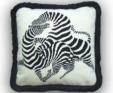"""20"""" NeedlePoint Pillow Wool for contemporary Rooms"""
