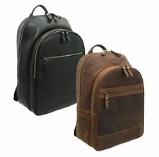 Visconti Toscana Collection Leather Laptop Backpack TC80b