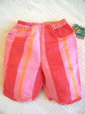 Gestreifte Baby-Hosen für Mädchen aus Baumwollmischung