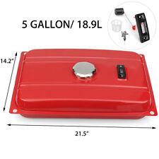 US Universal 5 Gallon Generator Gas Tank Fuel Filter Cap Gauge For Honda EC2500