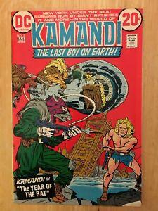 Kamandi #2 DC Comic Book NM Condition 1973 JACK KIRBY