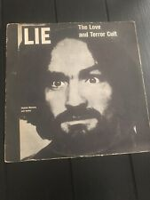 Charles Manson- The Love And Terror Cult Vintage Album Rare Find!