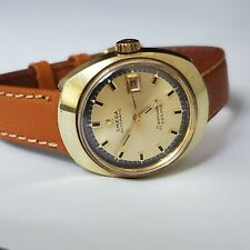 Omega Seamaster Cosmic Ladies Automatic Watch Gold Plated