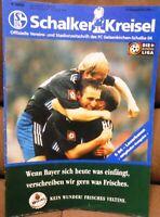 FC Schalke 04 Schalker Kreisel Magazin 26.09.1998 Bundesliga B. Leverkusen /215