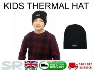 Childrens Boys Girls Kids Heatguard Thermal Genuine Thinsulate hat