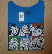MARVEL Shirts Original Size S Sleeveless T shirt Color Blue Kids 100% Cotton
