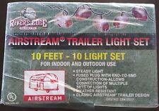 New listing Rivers Edge Airstream Trailer 10 Feet Indoor Outdoor String Light Set Nib