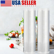 "2 Pack Vacuum Sealer Bags 5""X 500 CM Food Seal Bag For  Kitchen Food Saver USA"