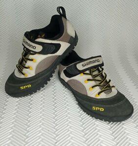 SHIMANO SPD SH-M037W Suede Mountain Biking Shoes 2 Bolt Women 6 Mens 7.5 EU 41