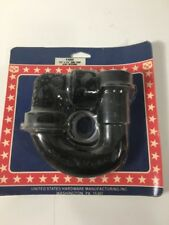 "Us Hardware P-686C Universal Sink Trap, 1-1/2"" x 1-1/4"", Plastic (PF1)"