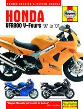 VGC Honda Vfr800f (1997-2001) Haynes Work Shop Repair Manual Book VFR 800 F Rc46