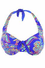 Halterneck Swim Bikini Tops for Women