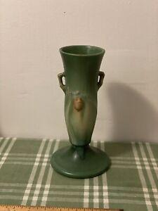"""Roseville Pinecone Vase 705-9"""" Green"""