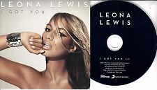 LEONA LEWIS I Got You 2010 UK 1-trk promo test CD