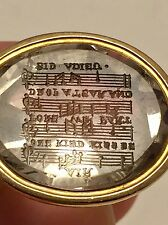 Antique Gold Watch Fob Seal in 18k with Engraved Stone of Robert Dodsley RARE