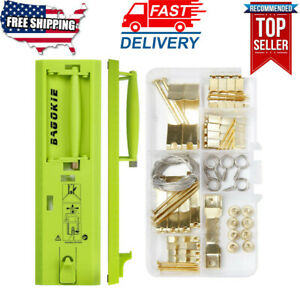Picture Hanging Tool Kit with Level Picture Hanging Hardware Portable Ruler