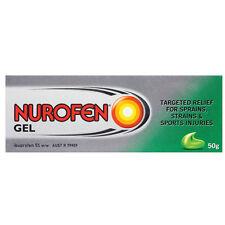 BRAND NEW NUROFEN GEL 50G SIZE anti-inflammatory gel