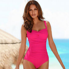Women's One Piece Bikini Monokini Swimwear Bathing Suit Swimsuit Beach Plus Size