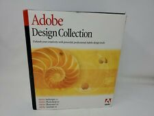 2002 Adobe Design Collection for MAC Photoshop 6.9  Illustrator 9.0 - Used