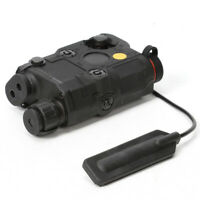 PEQ-15 Upgrade LED FLASHLIGHT Red Laser Airsoft w/ IR Lens Laser Box Tactical