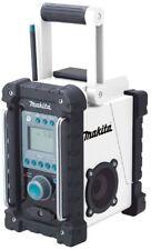 Makita BMR100W 18-Volt LXT Lithium-Ion Cordless FM/AM Job Site Radio Tool Only.