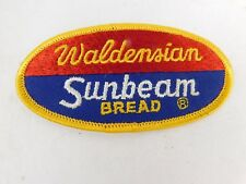 "VIntage Sunbeam Bread Vintage Patch Embroidered Ale 3-3/4"" inch Waldensian"