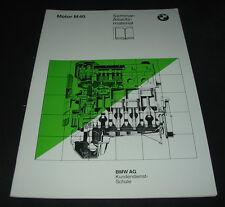 Seminar Schulungsunterlage BMW 3er E 30 E36 Motor M40 E30 E 36 Stand 06/1987!