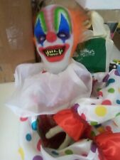More details for animated halloween clown prop