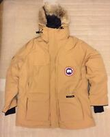 Canada Goose Expedition Mens Wasaga Sand Cedar Wood Parka Made In Canada