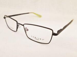 new KONISHI KF 8485 Flex Titanium eyeglasses Frame Black MEN 52mm