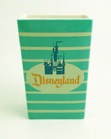 Disneyland 1950's-style Ceramic Popcorn Box Vase