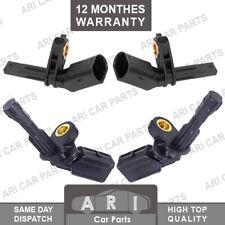 4X Front & Rear ABS SPEED SENSOR For SKODA OCTAVIA SUPERB YETI 2008-ON