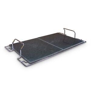 Sunday Grill Bioplatte Specksteinplatte + Träger 670 x 400 mm Gartengrill